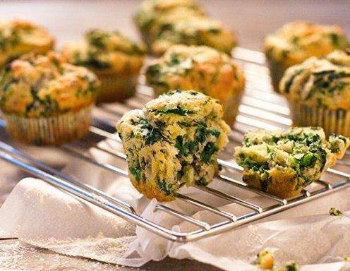 Pikante Muffins Rezept : pikante muffins mit spinat rezept ~ Lizthompson.info Haus und Dekorationen