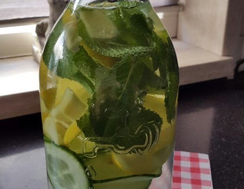 Detox Wasser Rezept Ichkoche At