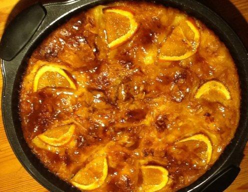 Griechischer Orangenkuchen Portokalopita Rezept Ichkoche At