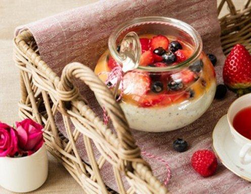 Grießbrei Mit Chia Samen Und Beeren Rezept Ichkocheat
