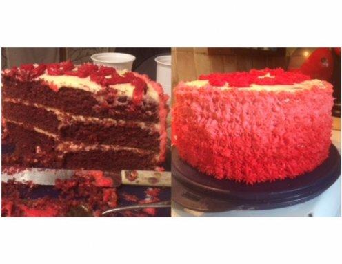 Red Velvet Cake Rezept Ichkoche At