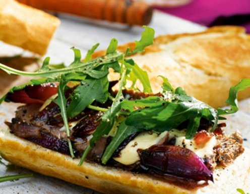 Steak-Baguette Rezept