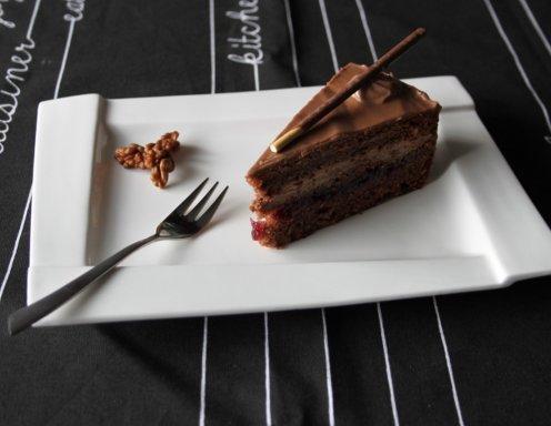 nutella cranberry torte rezept. Black Bedroom Furniture Sets. Home Design Ideas