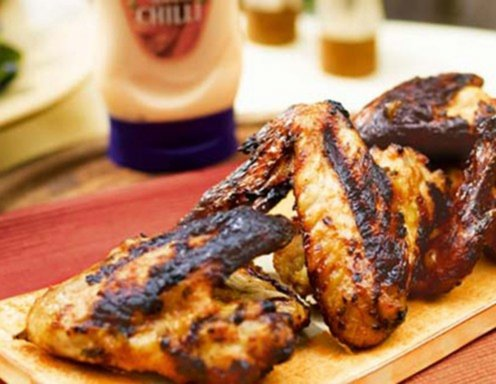 Chicken Wings vom Grill Rezept