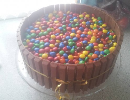 Kitkat Smarties Torte Rezept Ichkoche At
