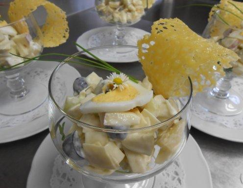 Weintrauben Käse Salat Rezept Ichkocheat