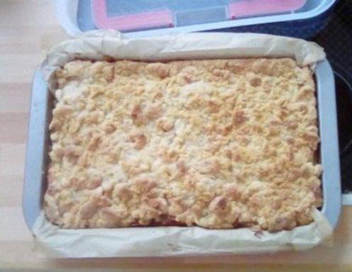 Apfelstreuselkuchen Rezept Ichkoche At