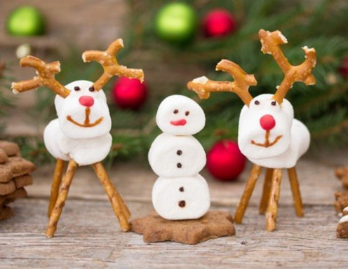 weihnachtliche marshmallow figuren rezept. Black Bedroom Furniture Sets. Home Design Ideas