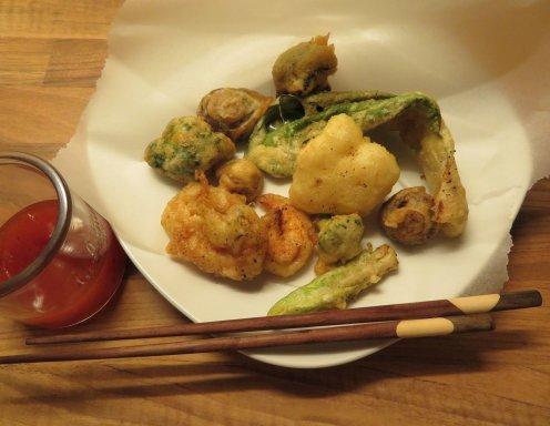 gemischtes tempura rezept. Black Bedroom Furniture Sets. Home Design Ideas
