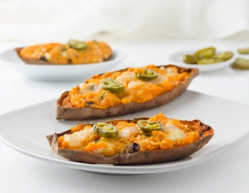 Sweet Potato Skins Rezept