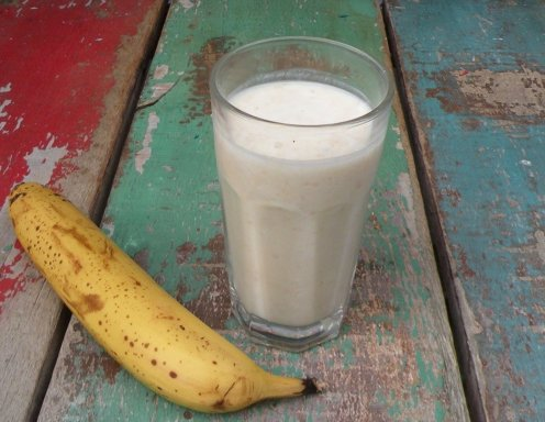 bananenmilch rezept ichkoche at