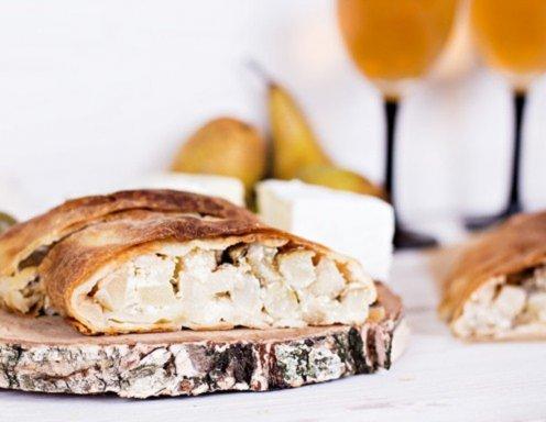 Birnen Käse Lauchstrudel Rezept Ichkocheat