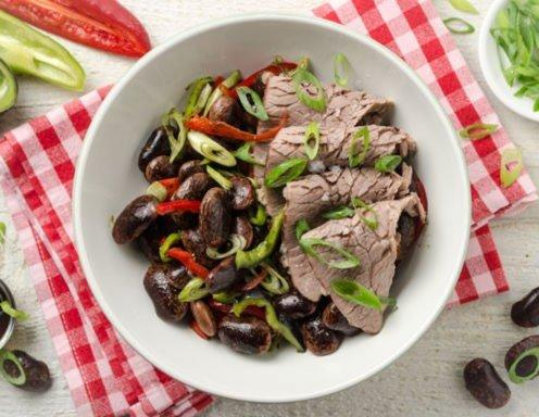 Käferbohnen Rindfleisch Bowl Rezept Ichkocheat