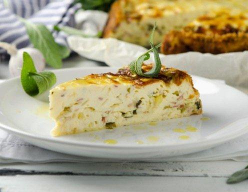 Ricottakuchen Mit Pancetta Und Salbei Rezept Ichkoche At
