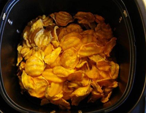 Susskartoffelchips Aus Dem Airfryer Rezept Ichkoche At