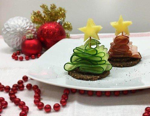 fingerfood weihnachtsb umchen rezept. Black Bedroom Furniture Sets. Home Design Ideas