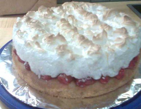 Erdbeer Baiser Torte Rezept Ichkoche At