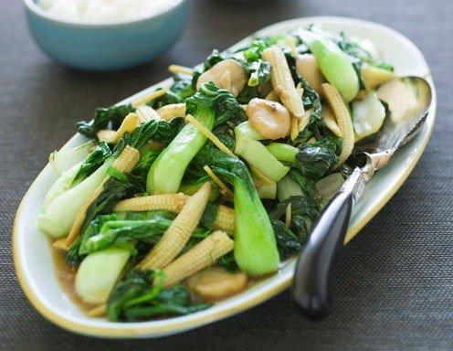 Gebratenes chinesisches Gemüse - Rezept - ichkoche.at