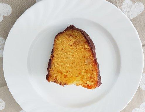 Orangenkuchen Mit Schokoglasur Rezept Ichkoche At