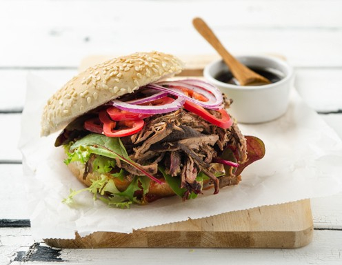 Pulled Duck Burger