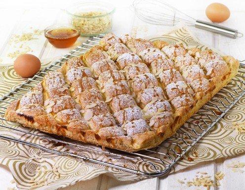 Honig Mandel Steppdeckenkuchen Rezept Ichkoche At