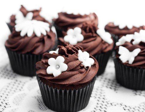 schoko cupcakes rezept. Black Bedroom Furniture Sets. Home Design Ideas