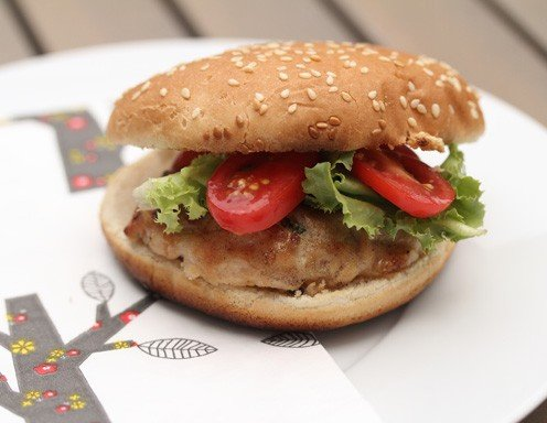 Chicken-Burger Rezept