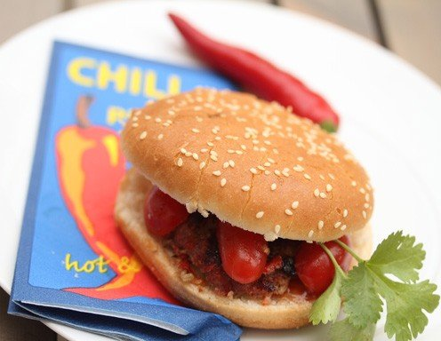 chicken burger selber machen. Black Bedroom Furniture Sets. Home Design Ideas