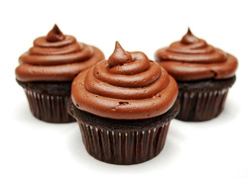 Cupcakes Topping Ganache