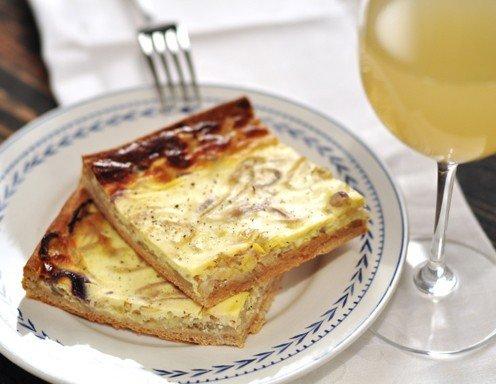 Französischer Zwiebelkuchen - Rezept - ichkoche.at