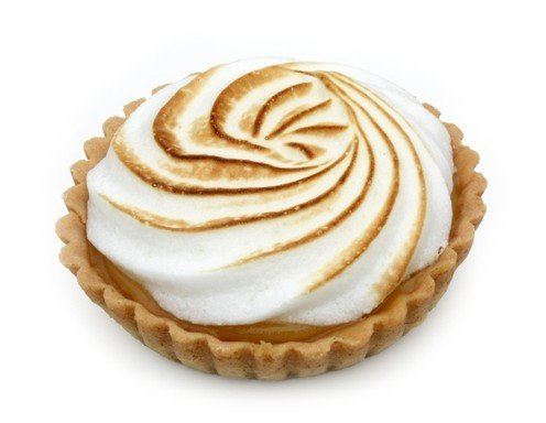 Süße Lemon Meringue Pie
