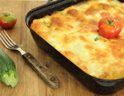 lasagne mit zucchini rezept. Black Bedroom Furniture Sets. Home Design Ideas