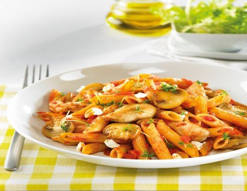 Vollkorn-Penne all' Arrabbiata