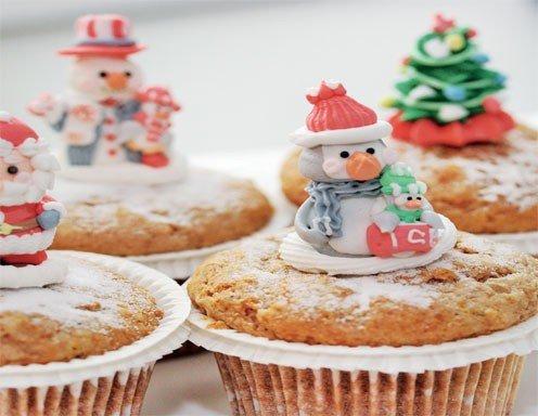 weihnachts muffins rezept. Black Bedroom Furniture Sets. Home Design Ideas