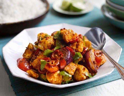 Huhn nach thai art rezept
