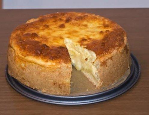 Apfel Topfenkuchen Rezept Ichkoche At