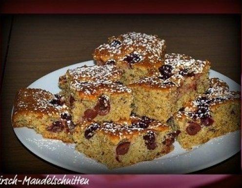 Kirsch Mandelkuchen Rezept Ichkoche At