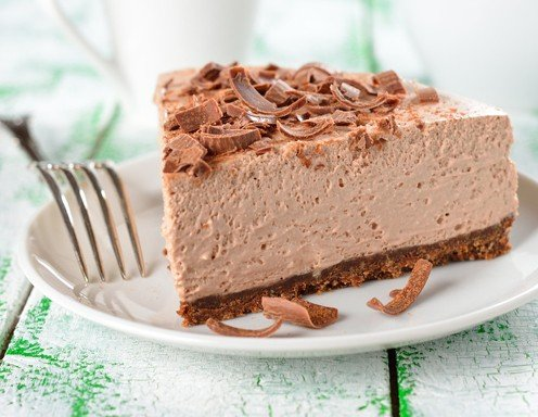 Mousse au chocolat Torte ohne Backen