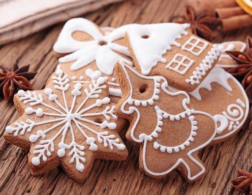 Plätzchen Verzieren Weihnachten.Lebkuchen Verzieren Leicht Gemacht Ichkoche At