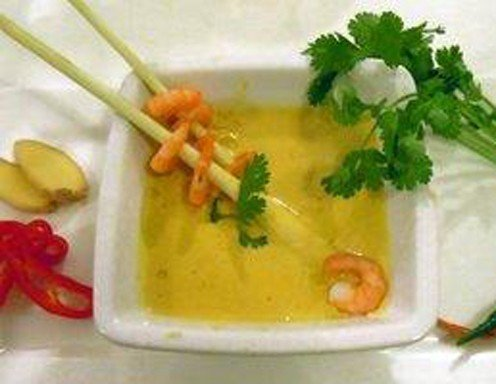 thai curry suppe mit shrimps rezept. Black Bedroom Furniture Sets. Home Design Ideas