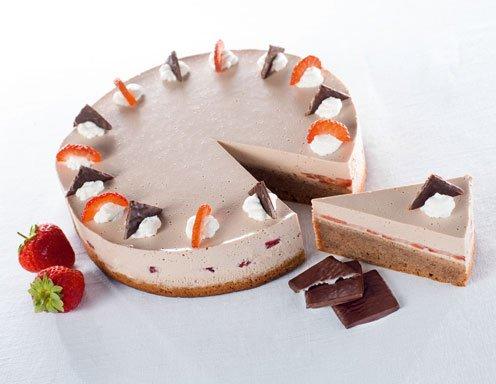 Aftereight Torte Mit Erdbeeren Rezept Ichkoche At