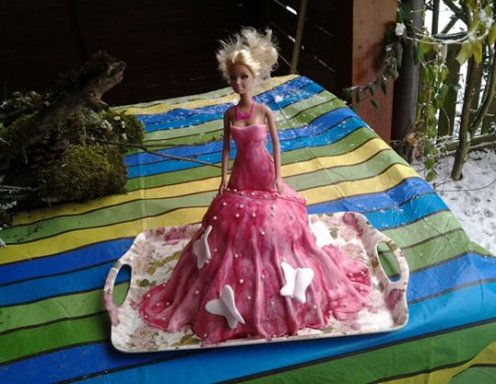 Barbie Torte Rezept Ichkoche At
