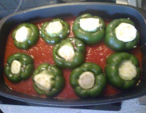 Gefüllte paprika rezept ichkoche.at