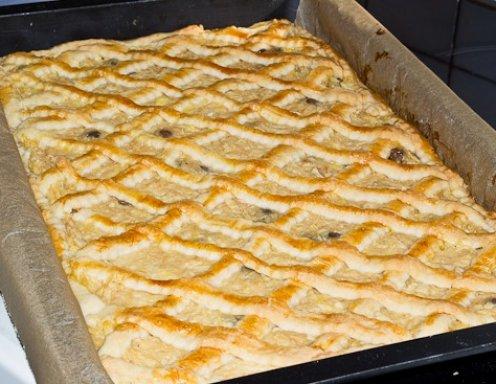 Herbstlicher Birnenkuchen Vom Blech Rezept Ichkoche At