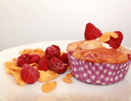 himbeer cornflakes muffins rezept. Black Bedroom Furniture Sets. Home Design Ideas