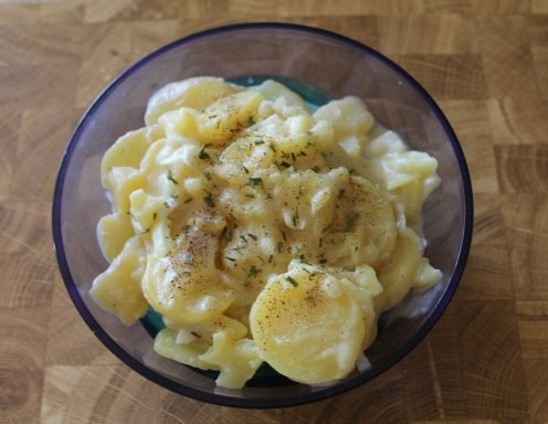 Kartoffel mayonnaise salat rezept