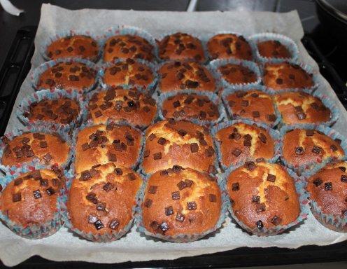 Muffins Mit Schokostreusel Rezept Ichkoche At