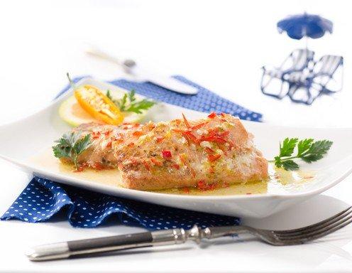 Gegrillte Wildlachsfilets Mit Limette Und Chili Rezept Ichkocheat
