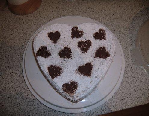Schokoladen Herz Torte Rezept Ichkoche At