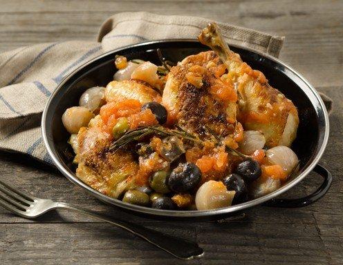 Rezept huhn tomaten oliven